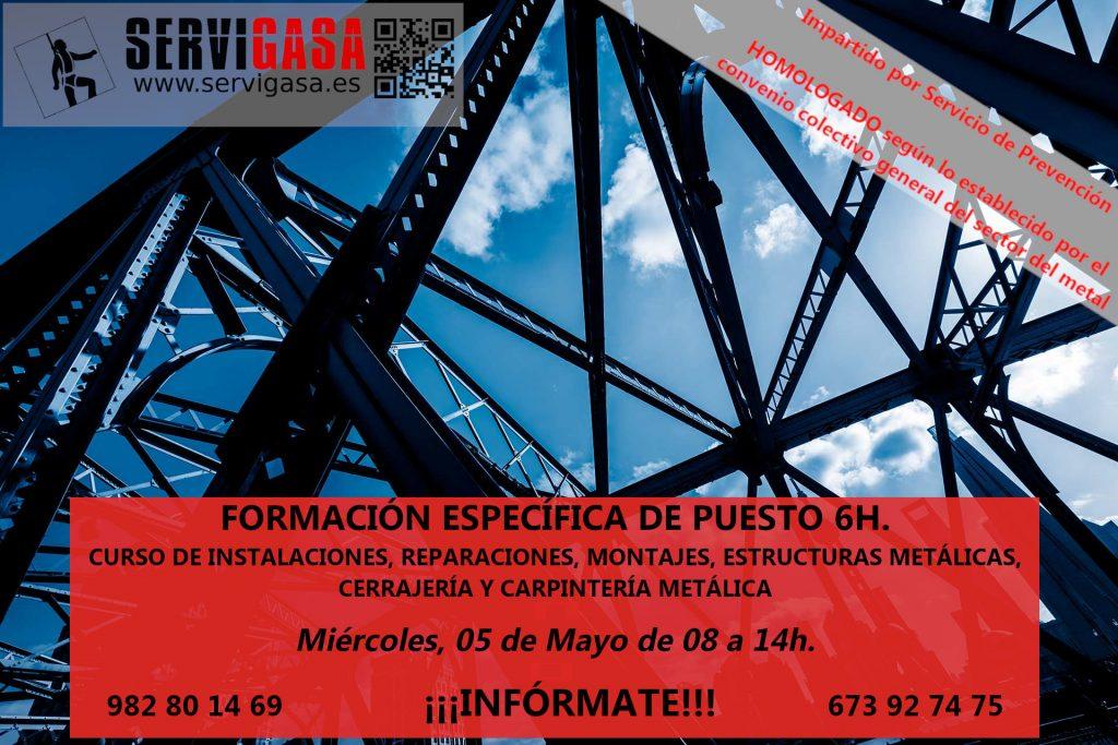 CURSO_MONTAJES-1-1024x683 FORMACION ESPECÍFICA DE PUESTO 6H. PARA EL SECTOR DEL METAL